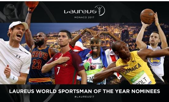 C.Ronaldo được đề cử ở giải Laureus