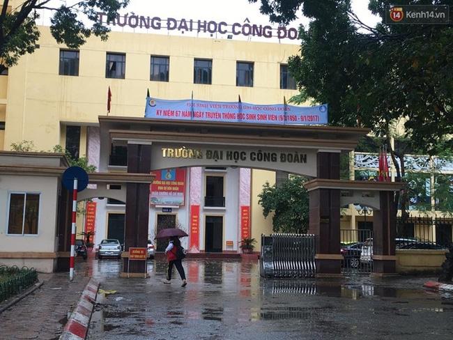 ĐH Công Đoàn cấm sinh viên ra khỏi trường trong giờ học gây xôn xao - Ảnh 2.