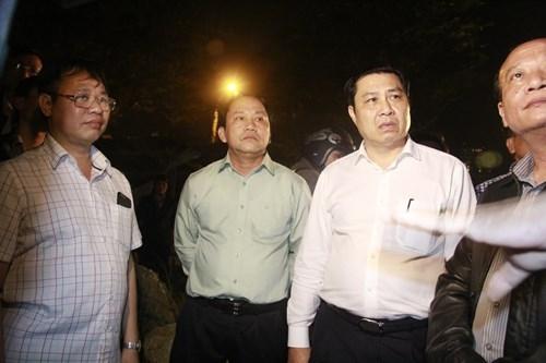 Kinh hãi với hiện trường vụ sập giàn giáo tòa nhà ở Đà Nẵng ảnh 8