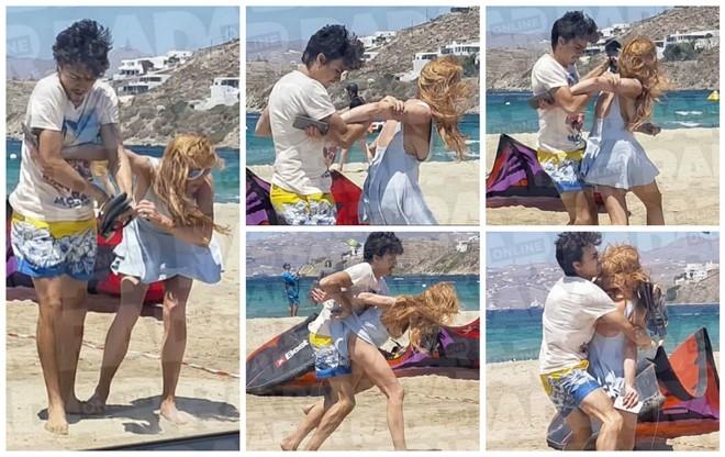 Lindsay Lohan tai xuat sau scandal bi ban trai bao hanh hinh anh 1