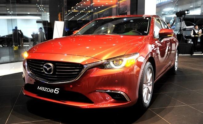 Mazda 6 2017 ra mat o Viet Nam voi gia tu 975 trieu dong hinh anh 1