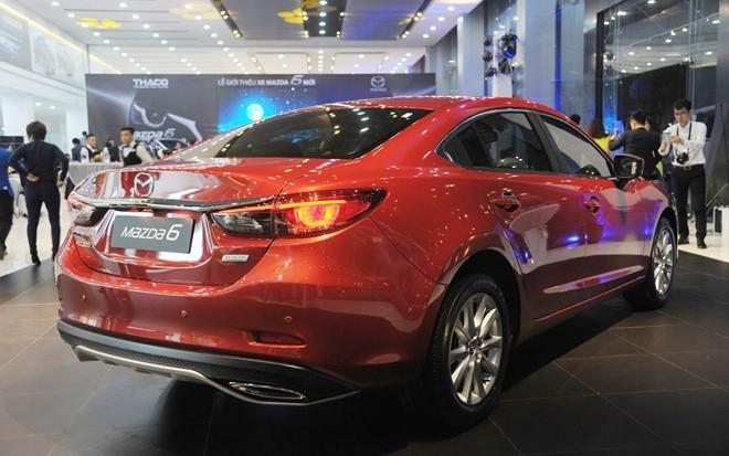 Mazda 6 2017 ra mat o Viet Nam voi gia tu 975 trieu dong hinh anh 3