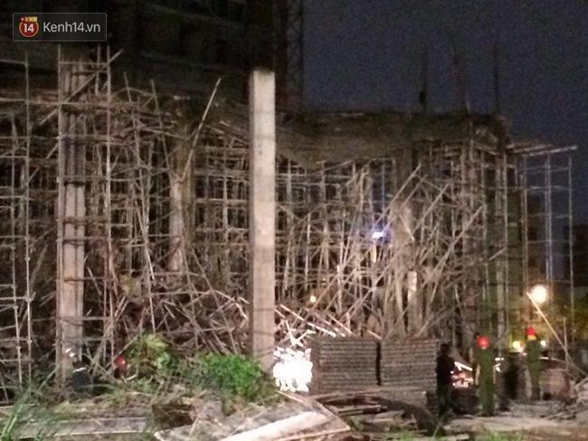 Nguyên nhân ban đầu vụ sập giàn giáo khiến 6 người bị thương ở Đà Nẵng - Ảnh 1.