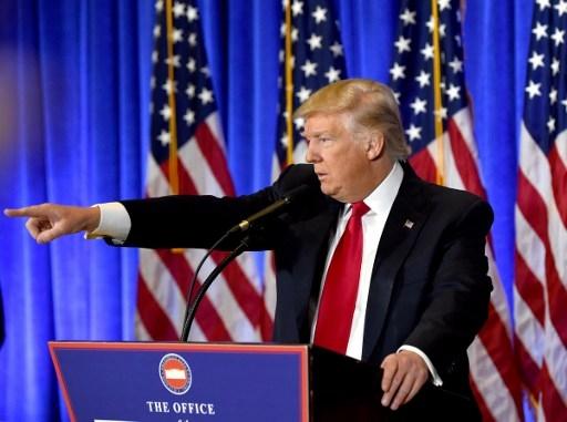 Ông Donald Trump (Ảnh: AFP)