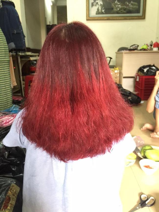 Tốn gần 2 triệu làm tóc xoăn ăn Tết, cô gái đau đớn nhận được quả đầu xù như... râu ngô - Ảnh 3.