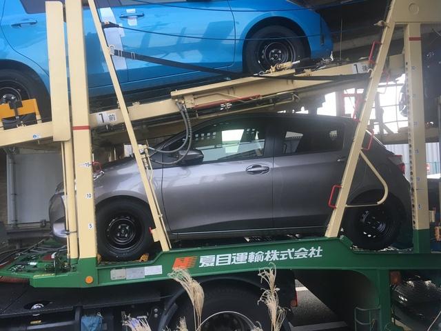 Toyota Yaris 2017 bất ngờ bị bắt gặp khi đang được vận chuyển đến đại lý - Ảnh 1.