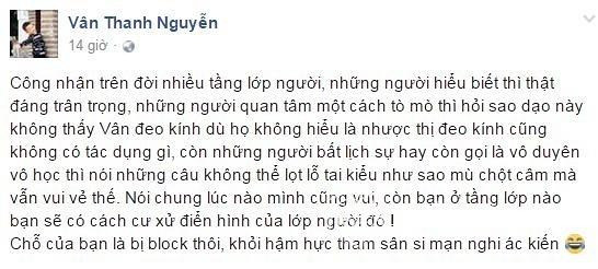 MC Vân Hugo mù chột câm  2
