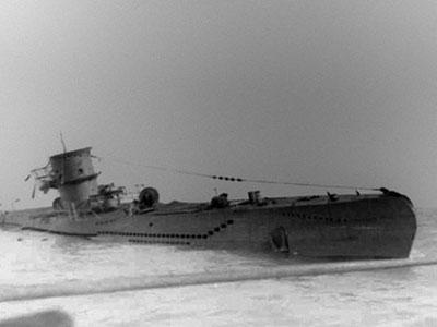 Chiếc tàu ngầm Đức duy nhất bị oanh tạc cơ Anh bắt sống