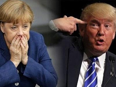 Trump nói Merkel phạm
