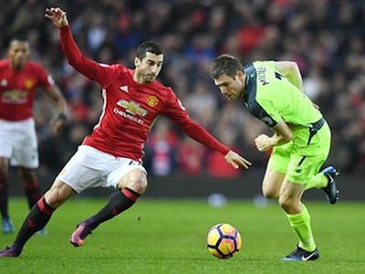 Mkhitaryan choáng ngợp vì không khí derby đỏ MU – Liverpool