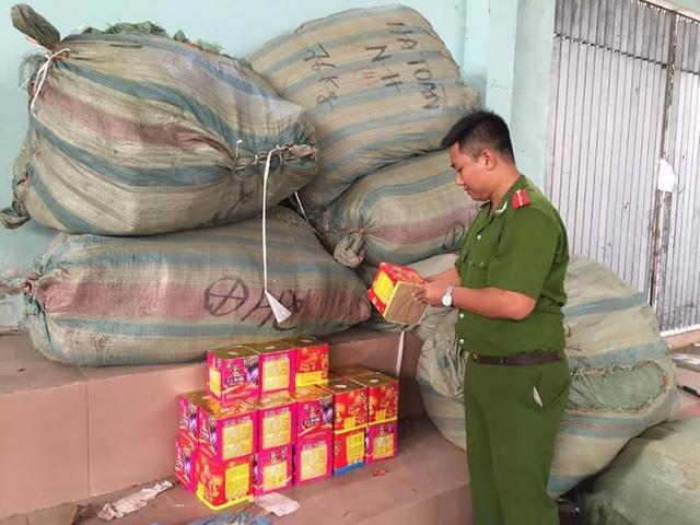 Nhiều vụ buôn bán pháo lậu số lượng lớn đã bị lực lượng chức năng tỉnh Lạng Sơn phát hiện, bắt giữ