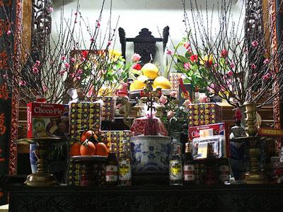Bài cúng đêm giao thừa 2017 trong nhà và ngoài trời tết Đinh Dậu