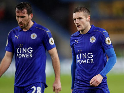 Leicester lại thua, ngày