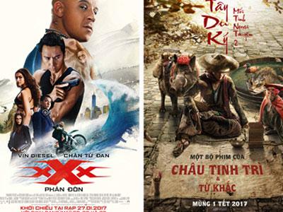 Phim Hoa ngữ và Mỹ áp đảo rạp Việt Tết Đinh Dậu