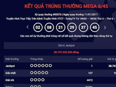 Gần 1 tháng mới biết trúng jackpot 29 tỉ vì… đợi ngày Thần Tài