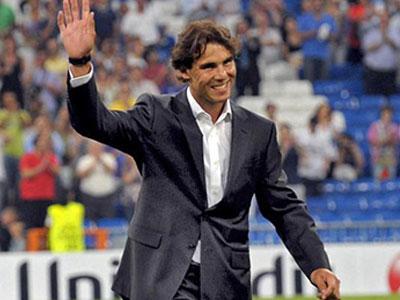 Rafael Nadal muốn trở thành Chủ tịch Real