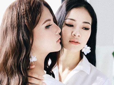 Vẻ đẹp sexy kiểu ngây thơ như búp bê của em gái Hoa hậu Trần Thị Quỳnh