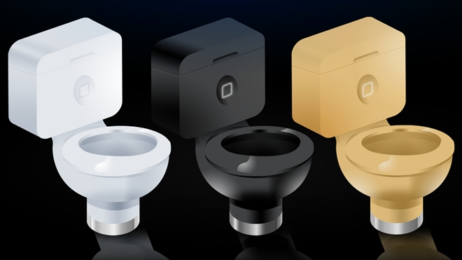 Apple xây toilet hình iPhone cho nhân viên