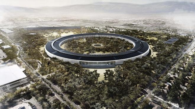 Apple xây toilet hình iPhone cho nhân viên - 1