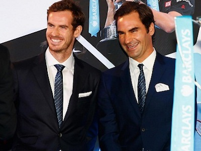 Federer nhận lời tham dự sự kiện từ thiện của Murray