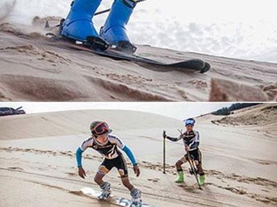Chuyện lạ của thể thao Việt Nam: Tập trên cát để đi thi… trượt tuyết!