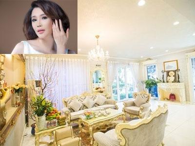 Nhà đẹp phong cách hoàng gia của Hồ Quỳnh Hương