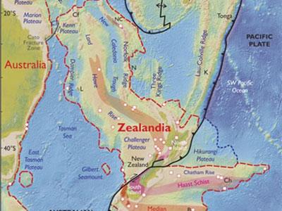 Phát hiện cả một châu lục mới ở Thái Bình Dương?