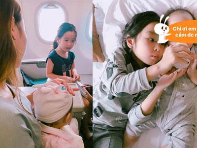 Những hình ảnh hiếm hoi của con gái út nhà Lưu Hương Giang