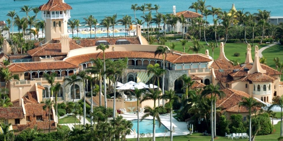 Ben trong khu resort sieu sang noi Trump don thu tuong Nhat hinh anh 1