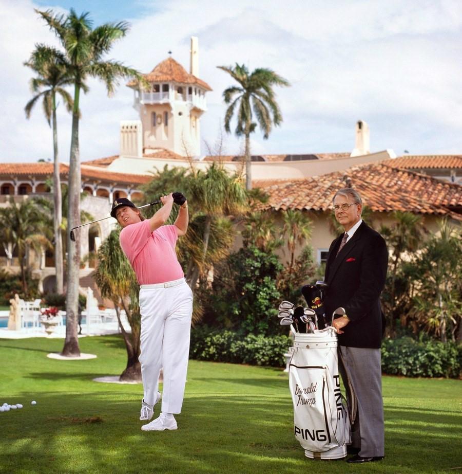 Ben trong khu resort sieu sang noi Trump don thu tuong Nhat hinh anh 5