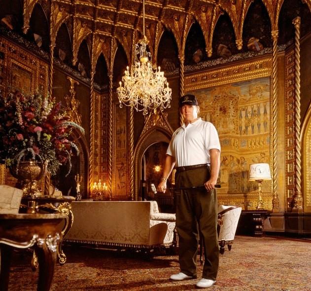 Ben trong khu resort sieu sang noi Trump don thu tuong Nhat hinh anh 8