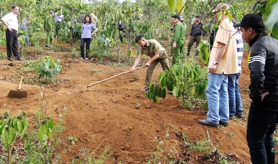 Hiện trường nơi giết người chôn xác phi tang rúng động dư luận ở Lâm Đồng.