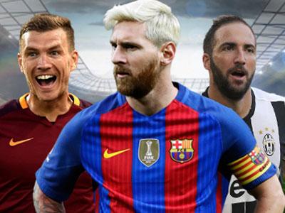 Cuộc đua Giày Vàng châu Âu: Messi bắt kịp tốp đầu