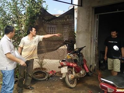 Lần manh mối vụ án từ chiếc xe máy trong tiệm sửa chữa