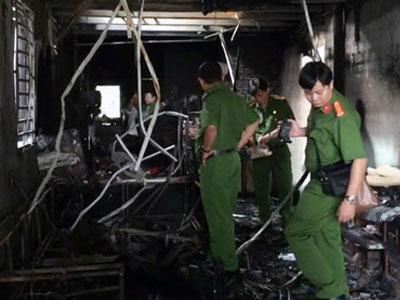Cháy nhà, 4 người chết ở Bình Dương: Bộ Công an tiến hành khám nghiệm hiện trường