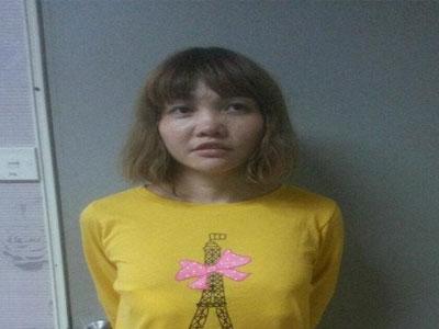 Đoàn Thị Hương có thể bị kết tội mưu sát vụ Kim Jong Nam
