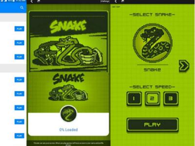 Nửa triệu người chơi Snake trên Facebook ngày đầu
