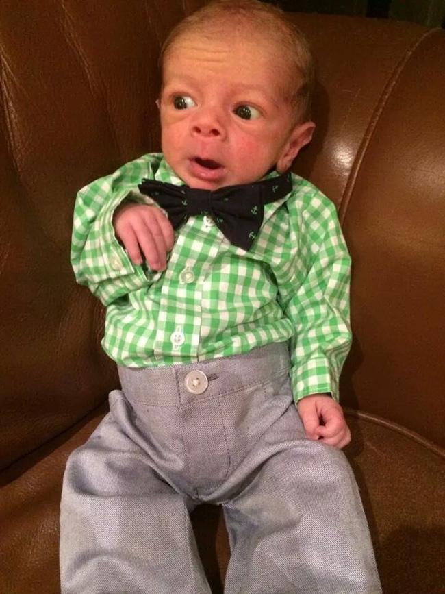 Những em bé vừa ra đời đã biến thành cụ già khiến ai nhìn cũng phải bật cười - Ảnh 3.
