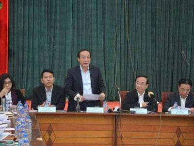 Nhà xe đề nghị Giám đốc Sở GTVT Hà Nội trả lời câu hỏi chứ không đọc báo cáo
