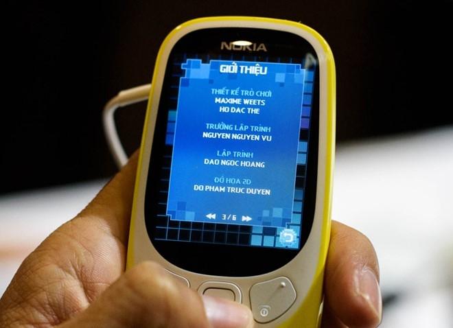 Game ran san moi tren Nokia 3310 do nguoi Viet lam hinh anh 1