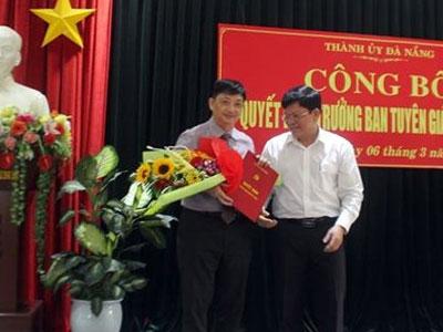Phó chủ tịch Đà Nẵng làm Trưởng ban Tuyên giáo Thành ủy