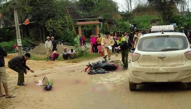 Nghệ An: 3 nữ sinh THPT bị xe đâm nhập viện ngày 8/3 - Ảnh 1.