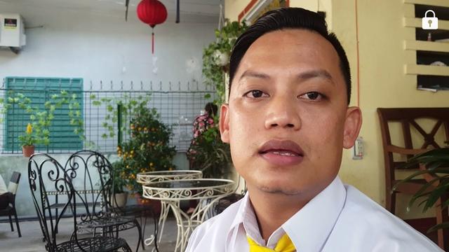 Tài xế Mai Đình Hòa kể lại việc anh đỡ đẻ cho sản phụ trên taxi
