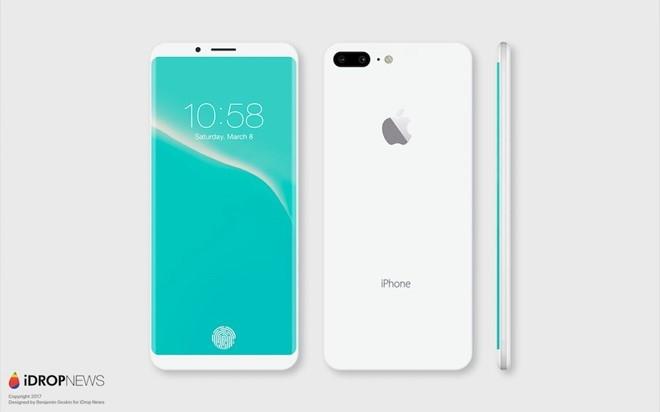 Ban dung iPhone 8 mau Jet White dep khong ti vet hinh anh 6