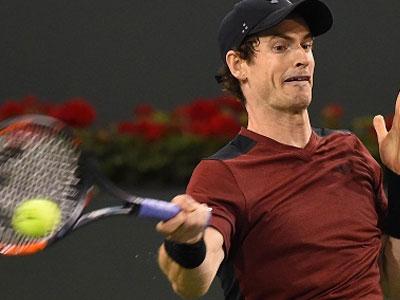Andy Murray thất bại trong trận ra quân Indian Wells
