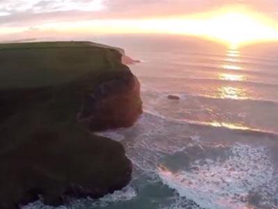 Video: Khung cảnh thiên nhiên tươi đẹp nhìn từ camera bay