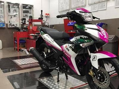Lộ diện Yamaha Exciter 150 màu sơn độc mới tại VN