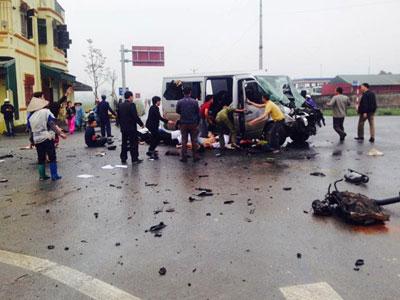 Thông tin mới nhất vụ xe đón dâu gặp nạn, nhiều người thương vong