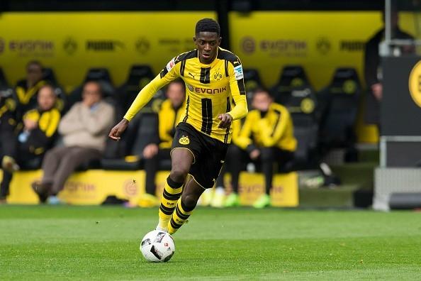 Barca nham tai nang tre Dortmund thay Messi hinh anh 1