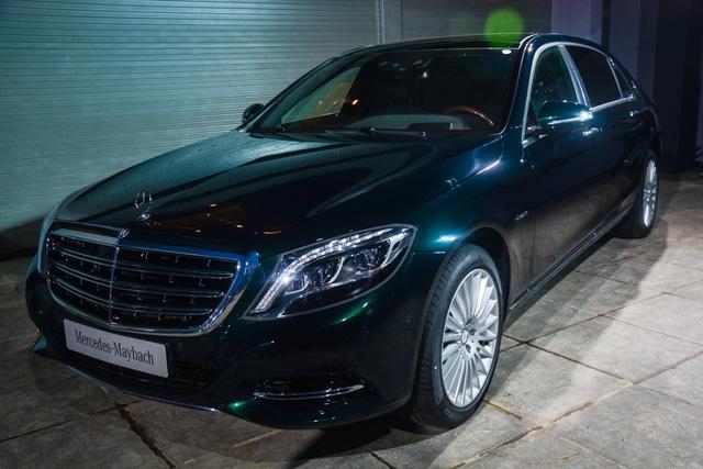 Cặp đôi Mercedes-Maybach S400 4Matic và S500 ra mắt khách hàng Việt, giá từ 6,9 tỷ Đồng - Ảnh 1.